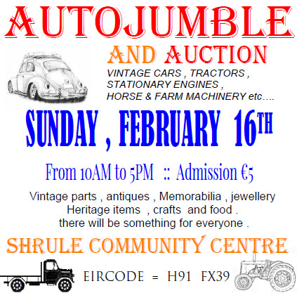 Autojumble :: Sunday , Feb 16th